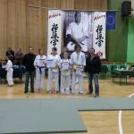 Trenerzy i zawodnicy z Naszych klubów karate biorących udział w turnieju