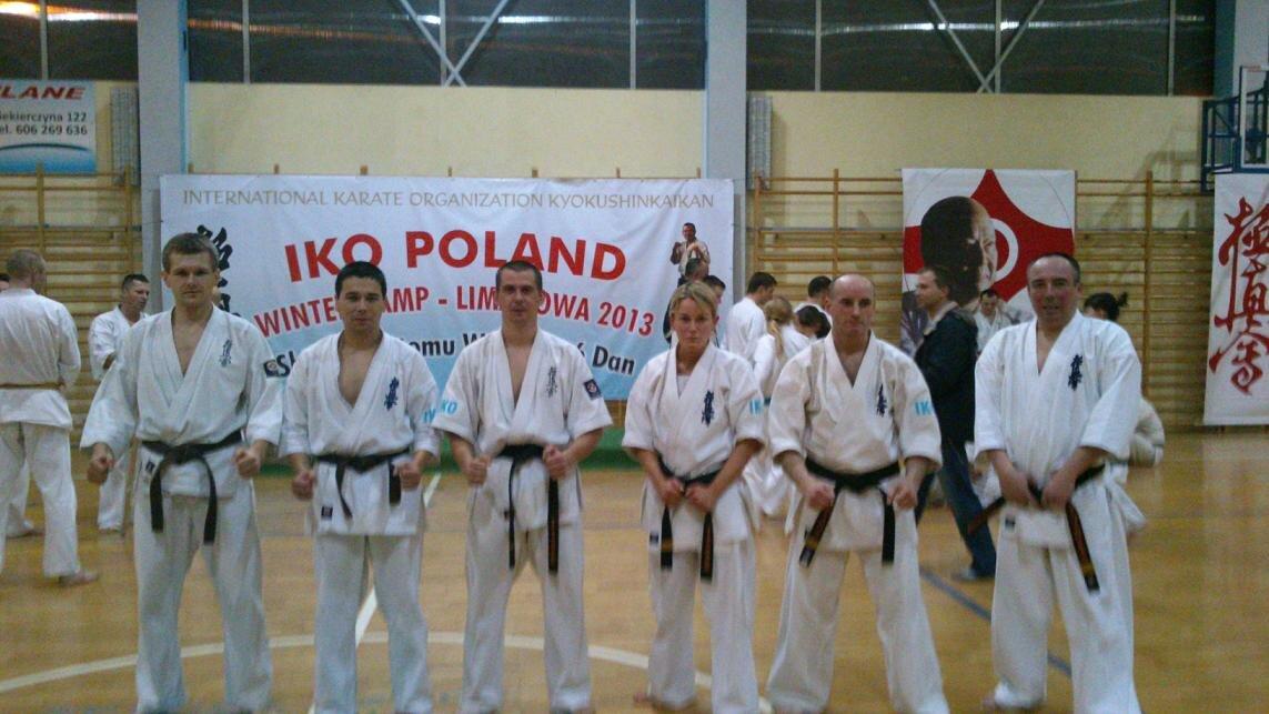 Uczestnicy obozu z Naszych klubów karate kyokushin